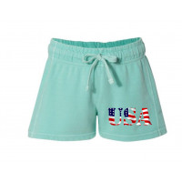 USA Printed French Terry Shorts