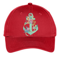 Flower Anchor Youth Hat