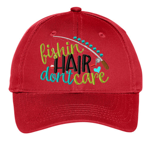 Fishin Hair Don't Care Youth Hat